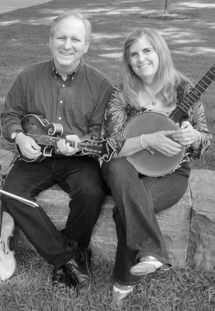 TRADITIONAL TUNES — John Kirk and Trish Miller will perform 7:30 p.m. on Saturday at Park Coffee House  (Photo submitted)