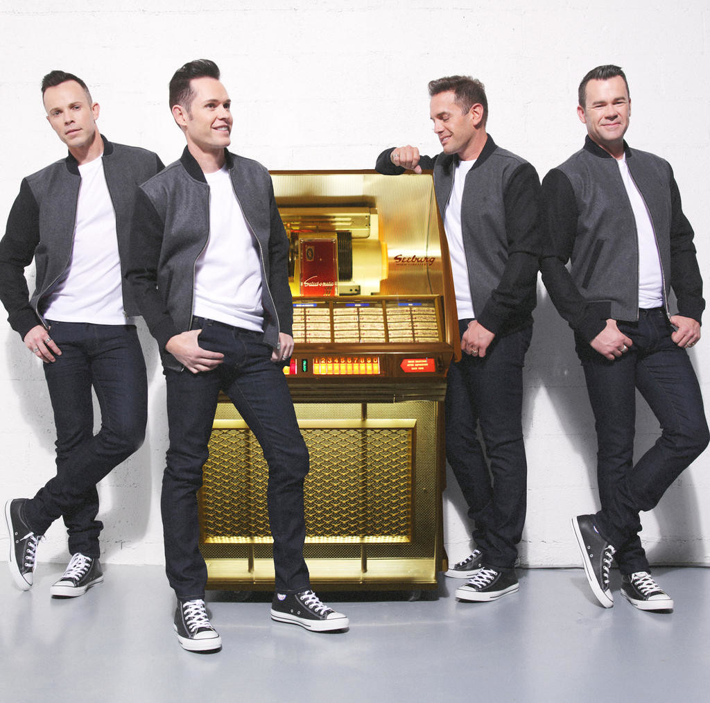 Jukebox tour — Australia's leading pop vocal group Human Nature includes Toby Allen, Phil Burton, and brothers Andrew and Michael Tierney
