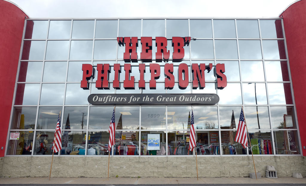 FOR SALE — Gary Philipson, president of 'Herb' Philipson's, announced Monday afternoon that the family-owned, nine-store retail chain is up for sale after 67 years of serving customers.    (Sentinel photo by John Clifford)