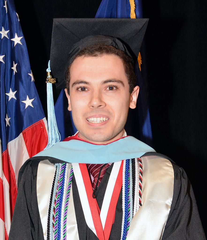 Jack V. Chesebro III, son of Jack V. Jr. and Nancy G. Chesebro, West Thomas Street, recently earned a master's degree from SUNY Oneonta as a educational technology specialist.