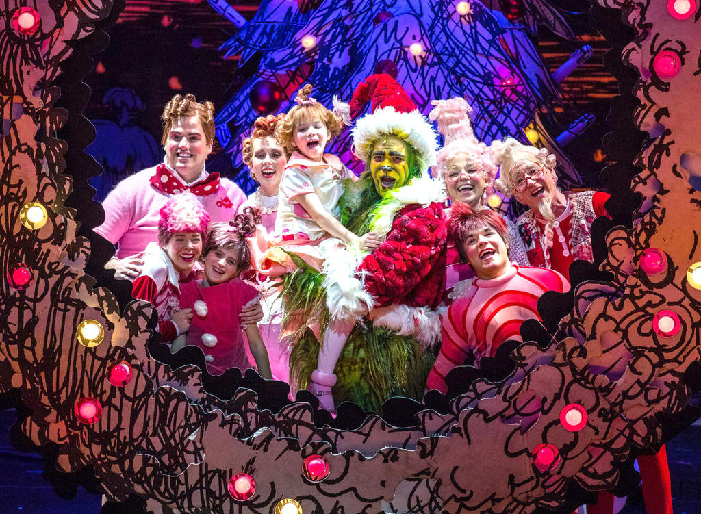 How The Grinch Stole Christmas Musical.Grinch Musical On Utica Stage Nov 14 15 Rome Daily Sentinel