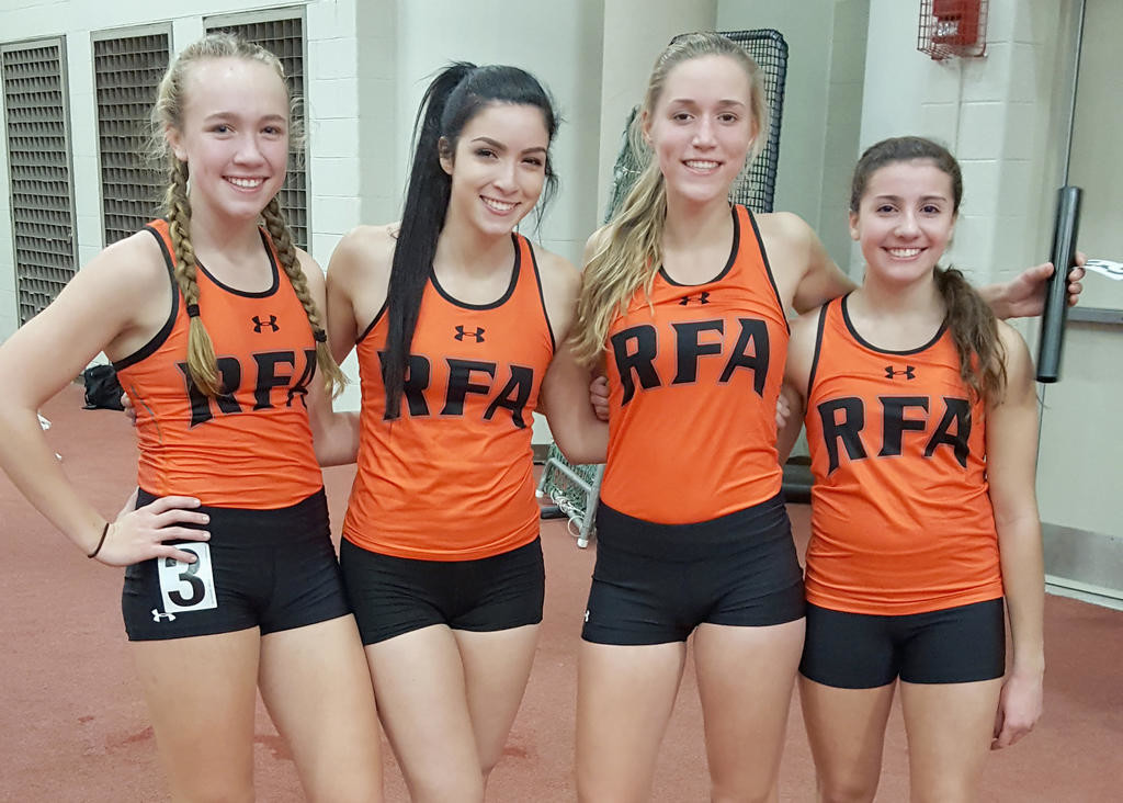 Record-setting relay leads RFA girls to first   Rome Daily Sentinel