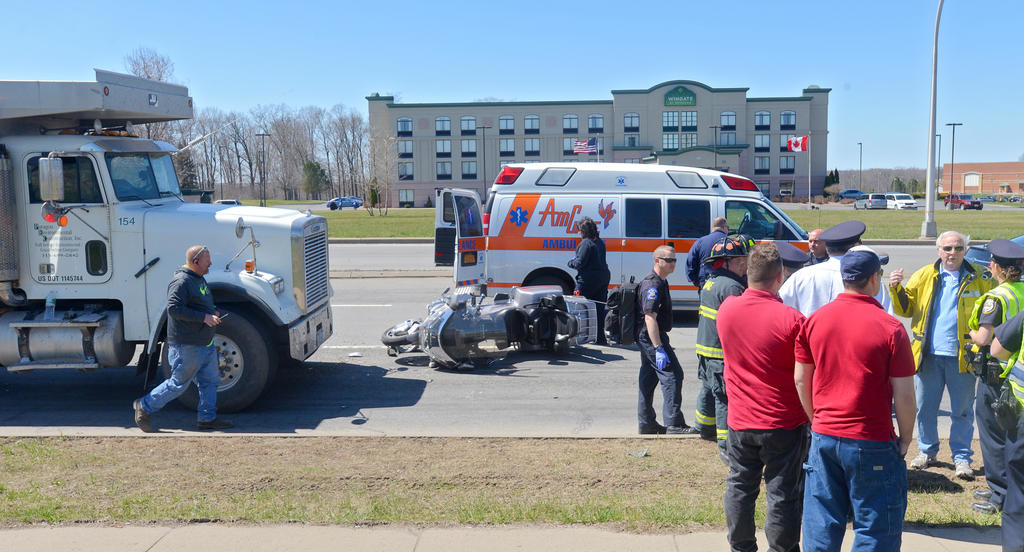 Truck-motorcycle accident on Route 825 | Rome Daily Sentinel