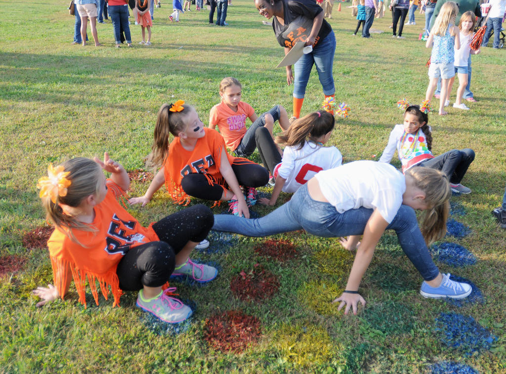 Twister on the lawn  (Sentinel photo by Makenzi Enos)