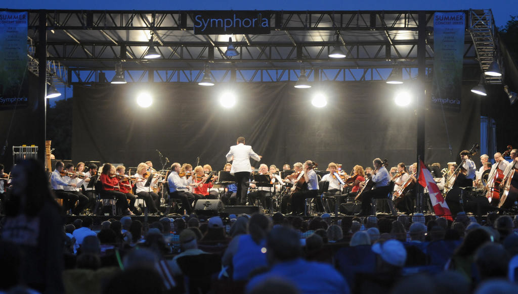Symphony performing.  (Sentinel photo by Makenzi Enos)