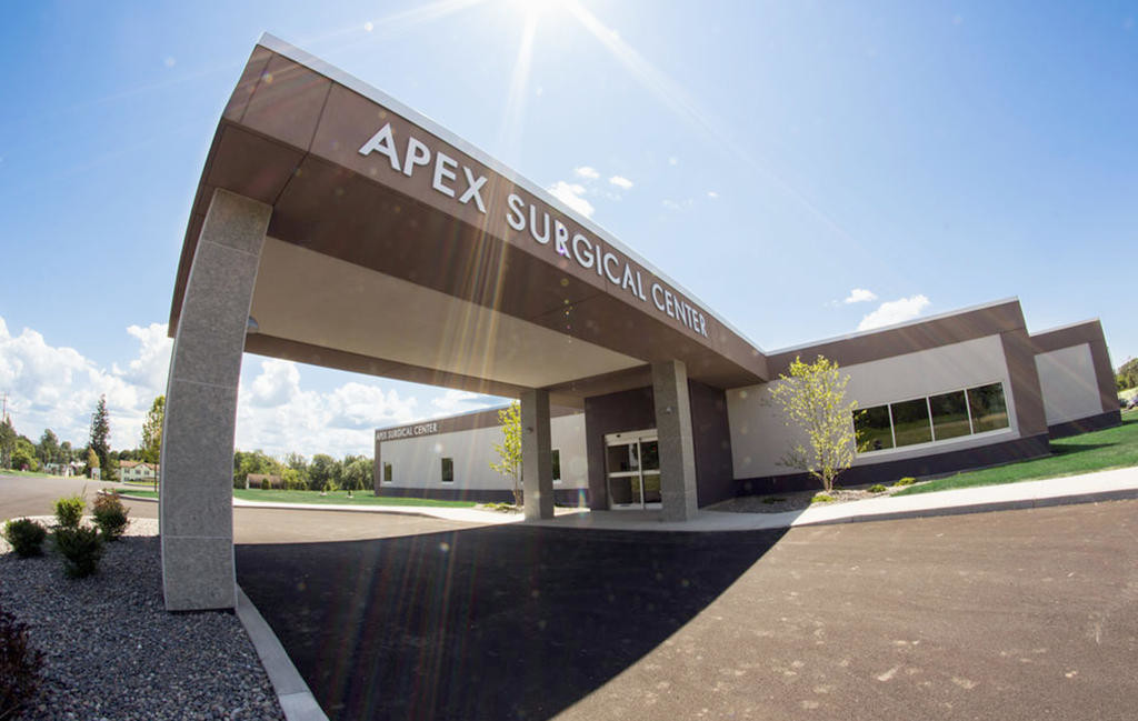 OPEN FOR BUSINESS — The first procedures at the new Apex Surgical Center were performed on July 14. The facility is located off Route 233 near the Westmoreland Thruway interchange. (Photo submitted)