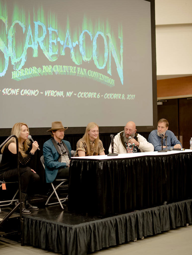 HORROR PANEL — Horror movie actors hosted a panel at last year's Scare-A-Con at the Turning Stone Resort and Casino, one of dozens of panels and Q&As throughout the weekend.