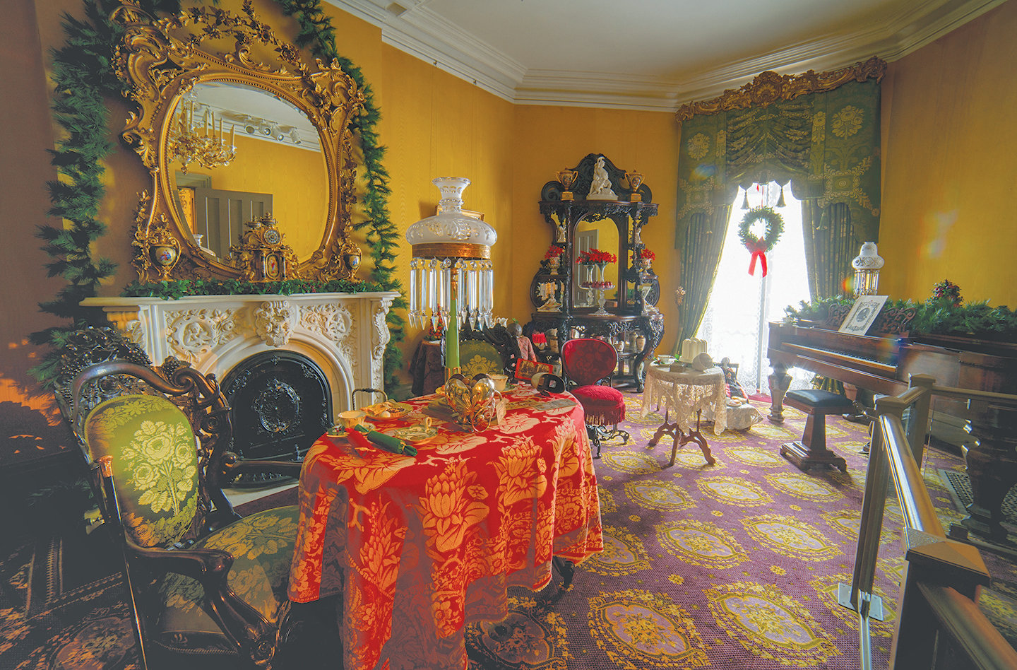 Victorian Yuletide — A New York State Christmas is this year's theme for MWPAI's annual event. Exhibit opens Nov. 23.