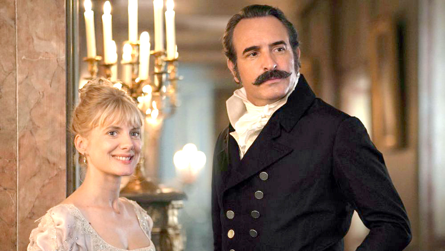 """RETURN OF THE HERO"" — Mélanie Laurent and Jean Dujardin star"