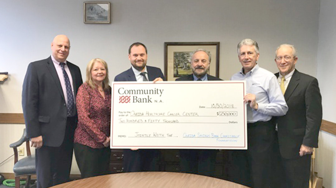 Bank, Foundation to give $250,000 to aid cancer center ...