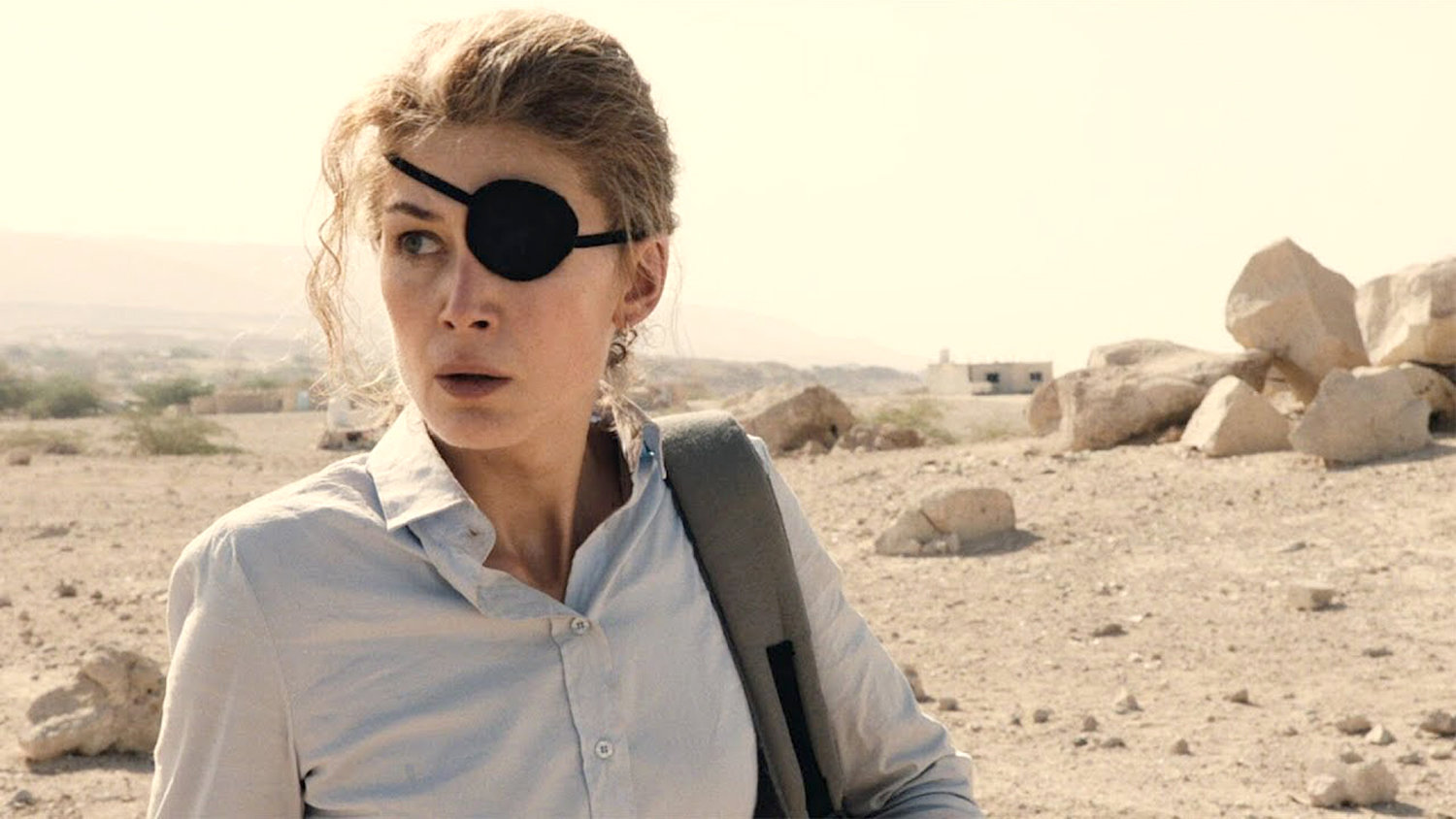 BIOPIC — Rosamund Pike as celebrated war correspondent Marie Colvin
