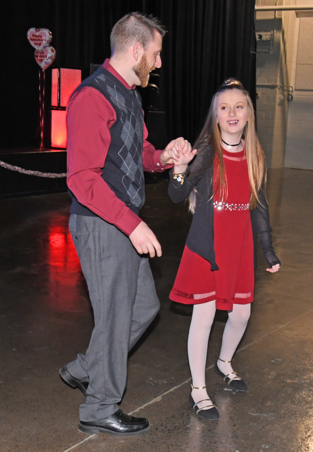 Cutting The Rug At Sweetheart Dance