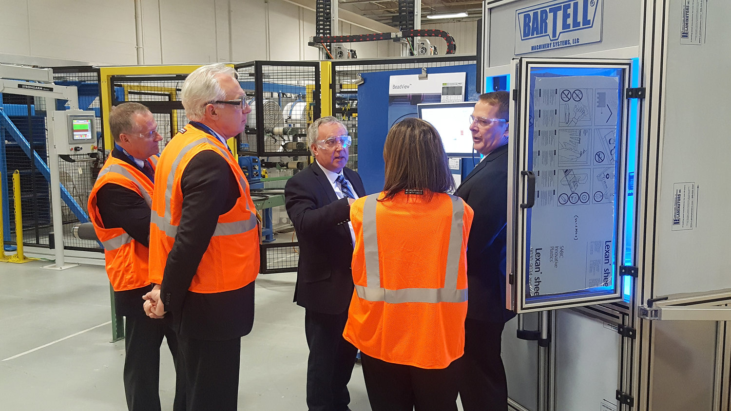 Awards, new vice president for Bartell Machinery Systems