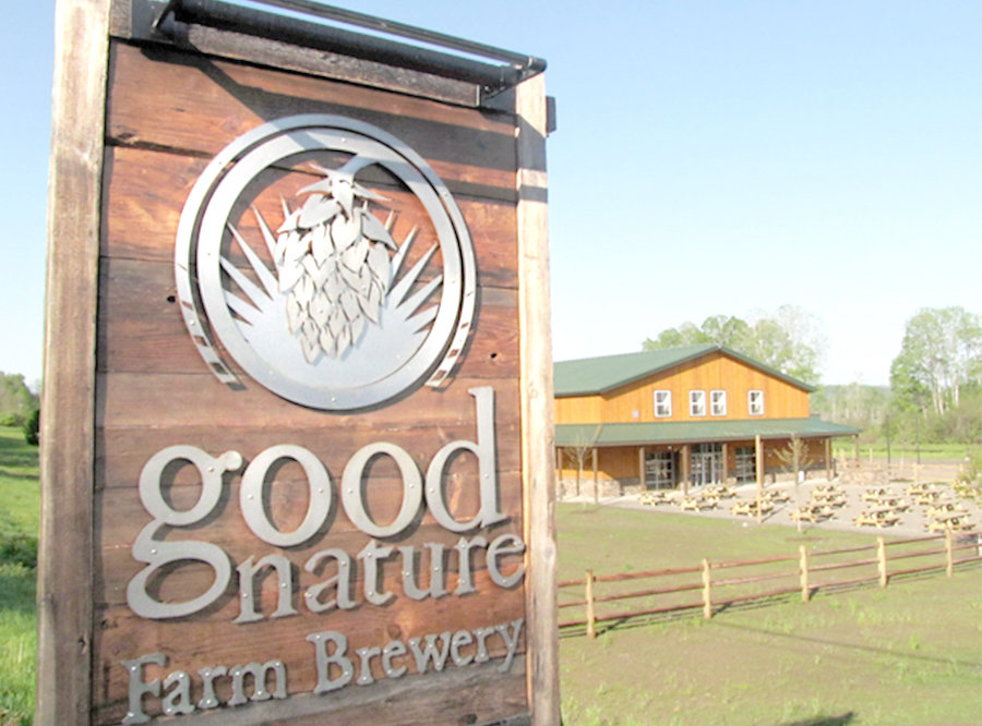 BREWERY SITE — Good Nature Farm Brewery opened this site at 1727 Route 12B in Hamilton in 2017. Good Nature was founded in 2010.