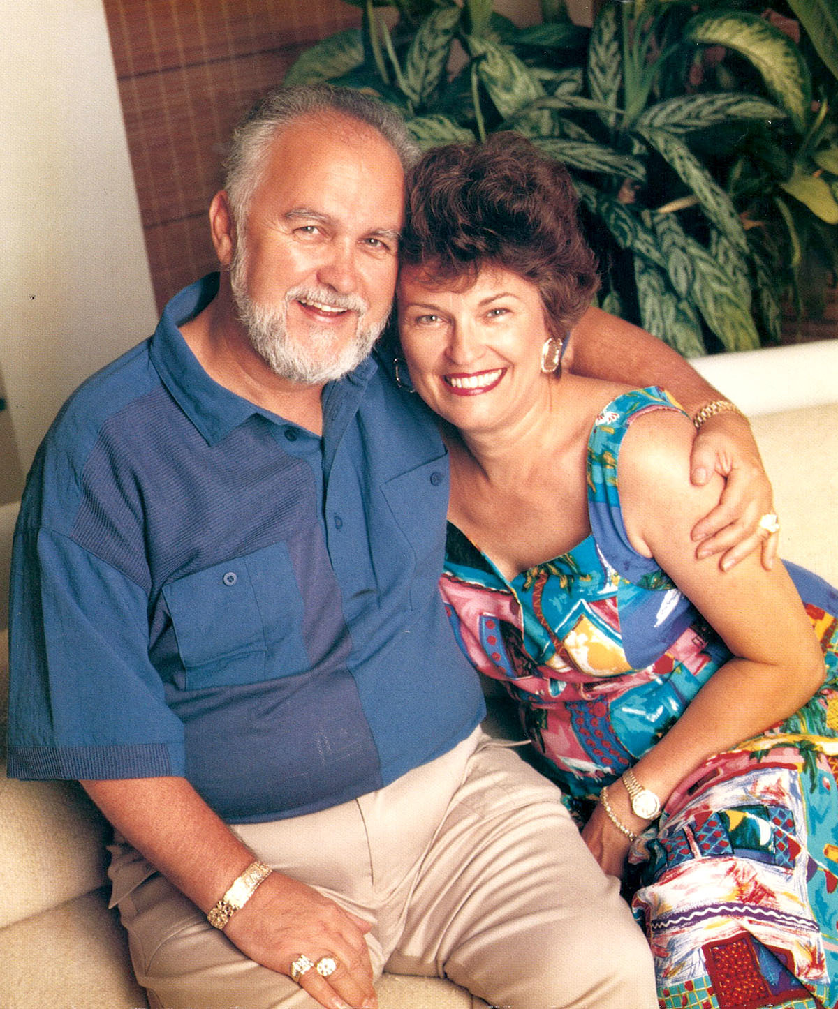 FORMER ROMANS — Dexter and Birdie Yager lived in Rome before moving to North Carolina in 1969.