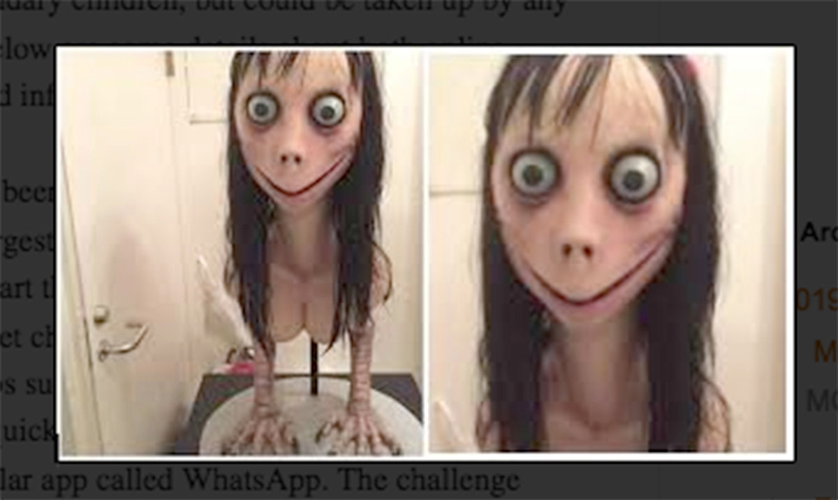 Don't Freak Out About The 'Momo Challenge,' Which Is Not A Real Thing