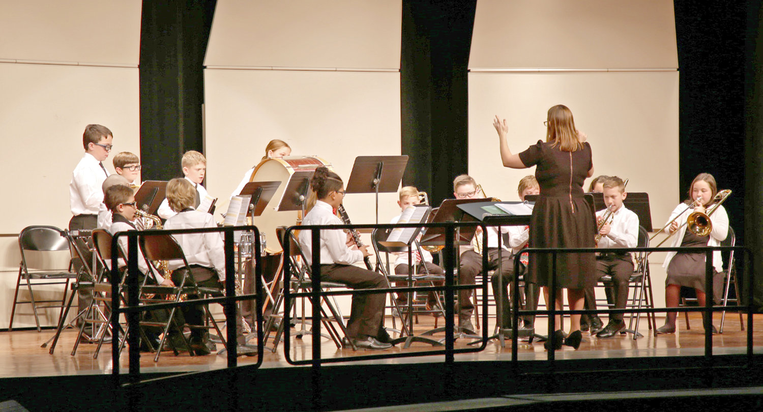 MUSIC DEPARTMENT SEEKS FUNDING — For Rome school district instrumental music activities including band and orchestra, the music department is seeking funding to replace instruments that are unable to be repaired and to provide opportunities for more students to participate.