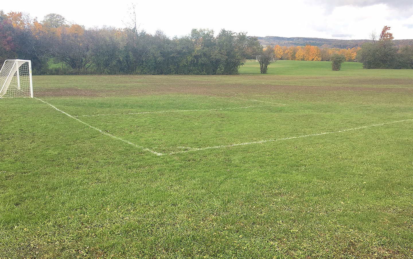 PLAY SUSPENDED — The Kirkland Town Board has decided to suspend play for AYSO at the John G. Karin III Town Park. The sod root system was ruined at the end of last season and needs repair from the Kirkland Parks and Recreation Department.