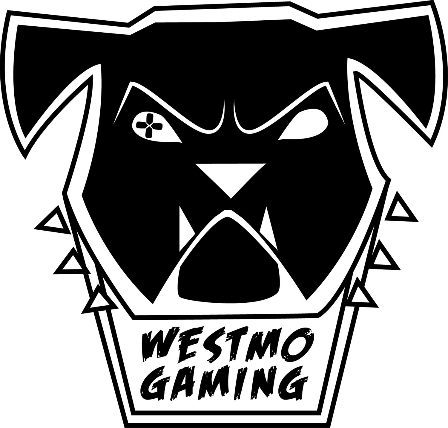 ESPORTS TEAM LOGO — The Westmoreland High School Bulldogs esports team has a logo designed by school art teacher Caitlyn Notaro. Her husband, school global studies teacher Gianni Notaro, is the adviser for the student group.