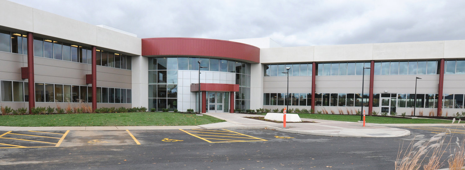 EXEMPTION APPROVED — Assured Information Security, whose building at the Griffiss Business and Technology Park is shown above in a file photo, has won approval Thursday from the county Industrial Development Agency board of directors for an exemption from sales taxes worth $43,800 on upgrades to its server room. It committed to five jobs.