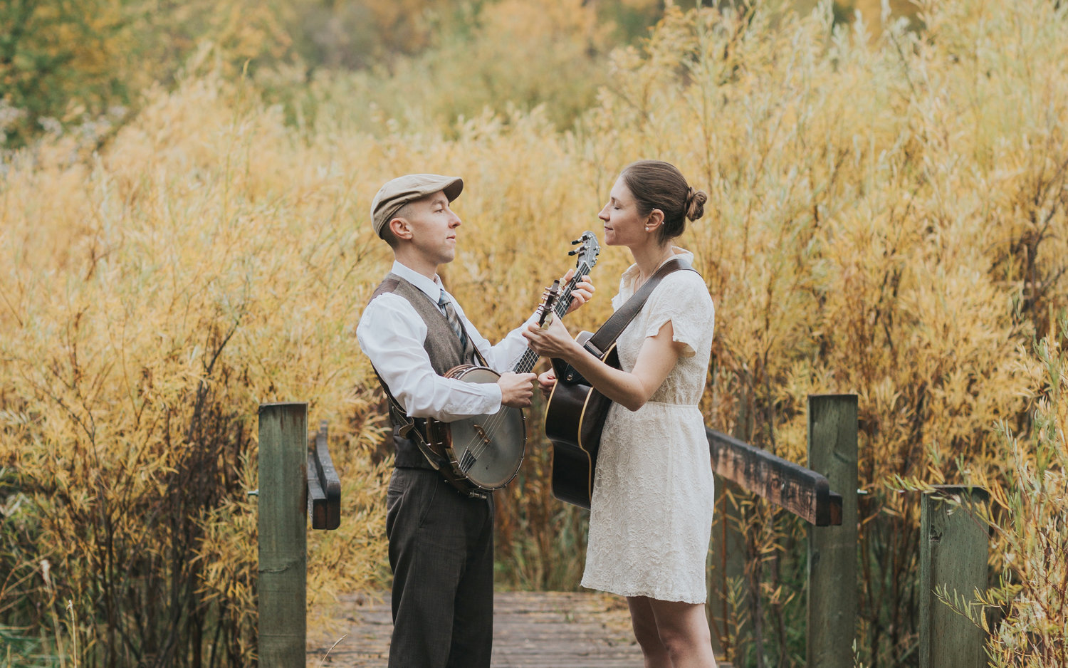 Ordinary Elephant — The folk duo will perform May 10 at Great Swamp Conservancy of Canastota.
