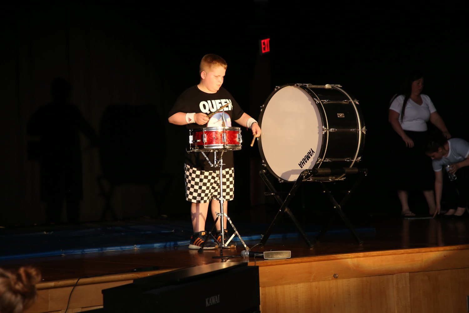 "Ethan Makuch- Played ""We Will Rock You"" by Queen on the drums"