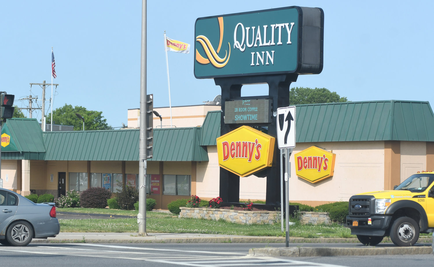 A TEMPORARY CLOSURE — Management at Denny's restaurant, 200 S. James St., says the business was closed over the weekend, but should open by Monday night. Management declined to explain why the diner was shuttered.