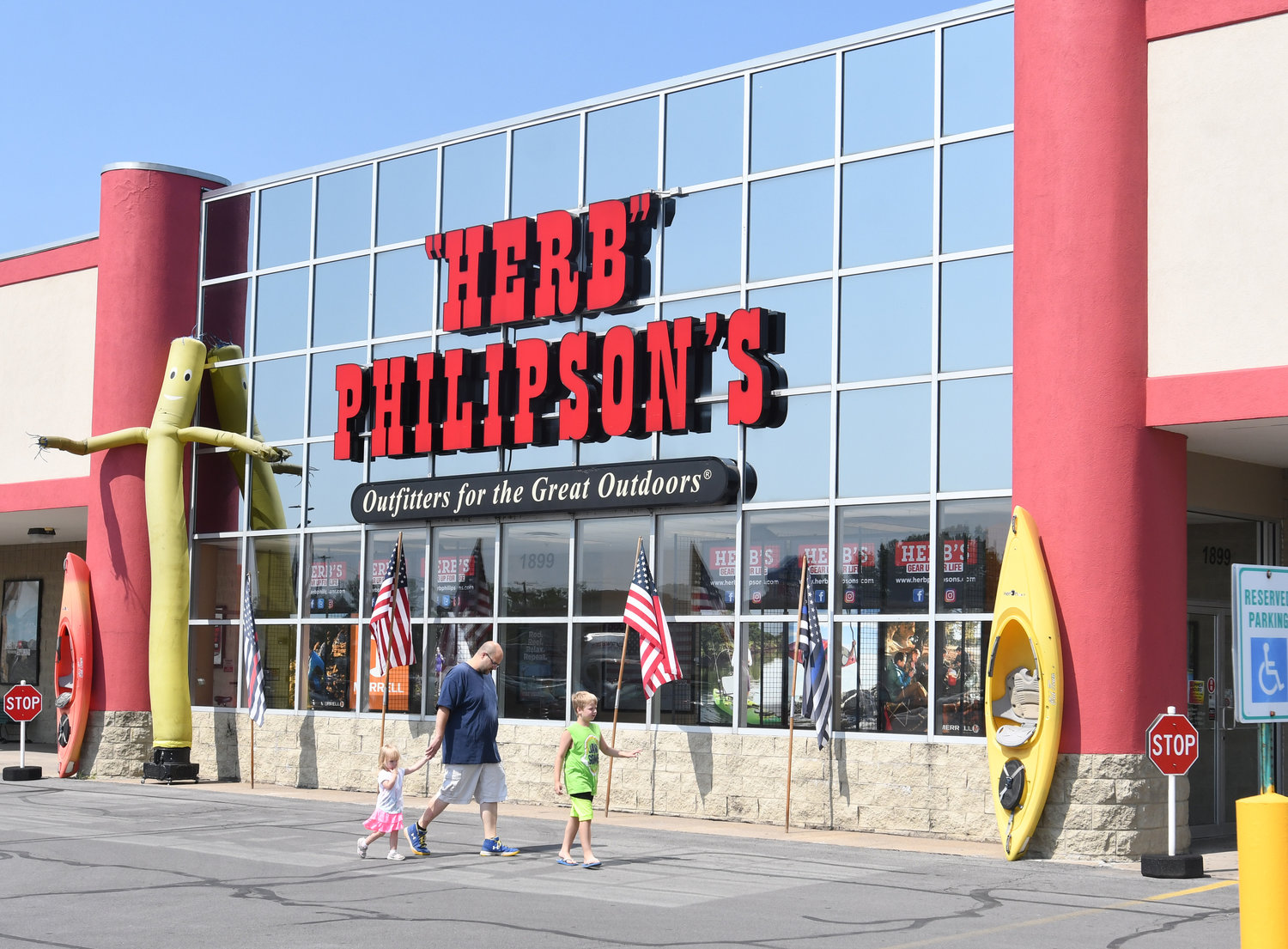NO BIDDERS — There were no bids in an auction for sporting goods retailer Herb Philipson's in a proceeding Wednesday in U.S. Bankruptcy Court in Utica. No further court dates have been scheduled yet in the case.