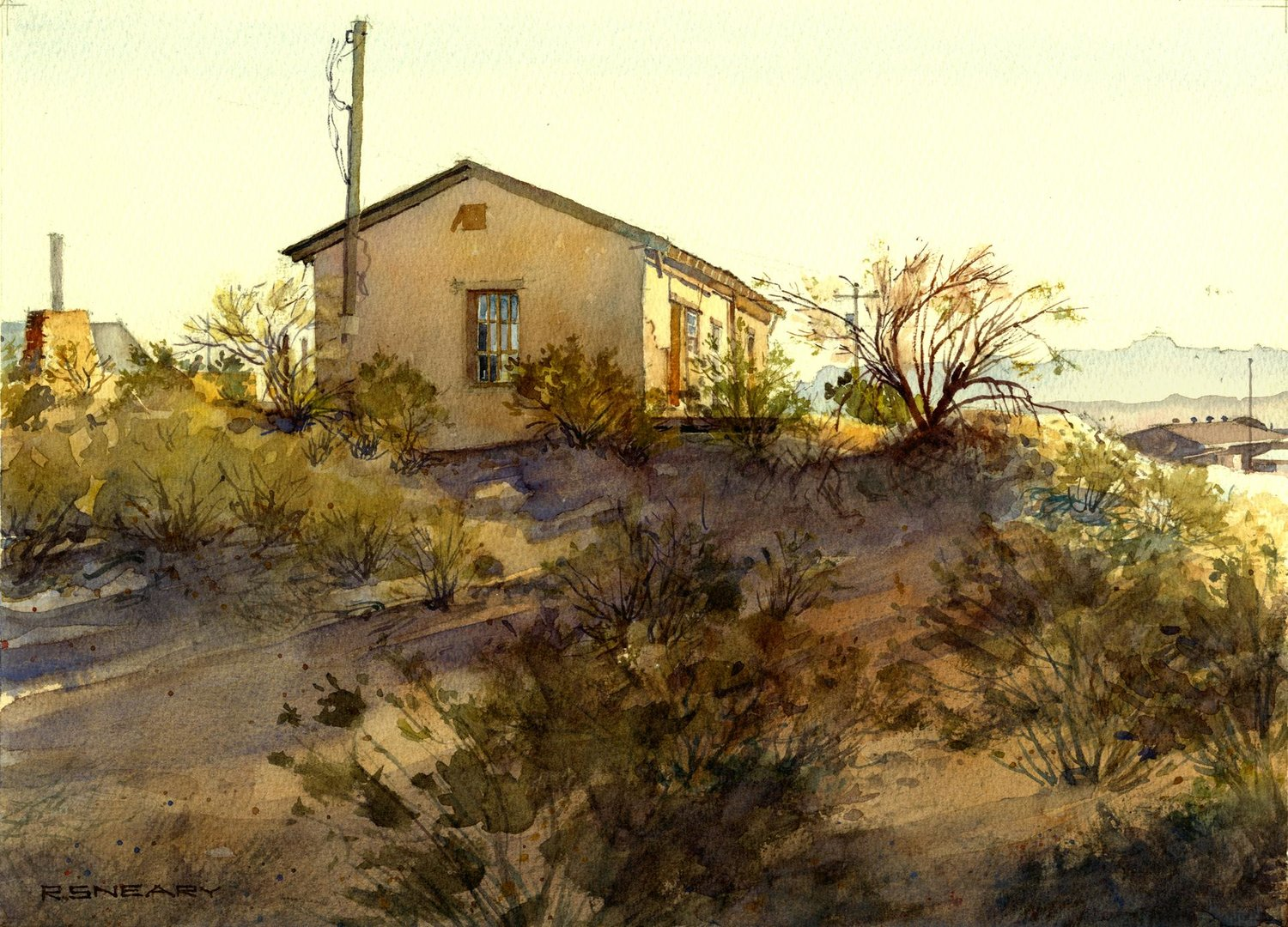 """Terlingua"" — Piece by Richard Sneary, NWS"