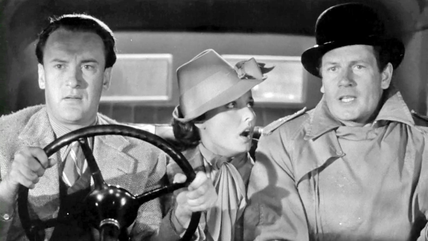 "Hitchcock: Buried but Alive — George Sanders, Laraine Day, and Joel McCrea in ""Foreign Correspondent"""