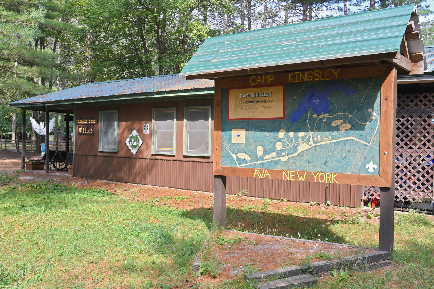 SCOUTS SEEK ADDITIONAL FACILITY — For the Camp Kingsley site in Ava, the local Boy Scouts organization has launched a fund drive that aims to raise $200,000 by next July 4 for construction of a new welcome center. A donor has pledged an additional $100,000 if the drive is successful.