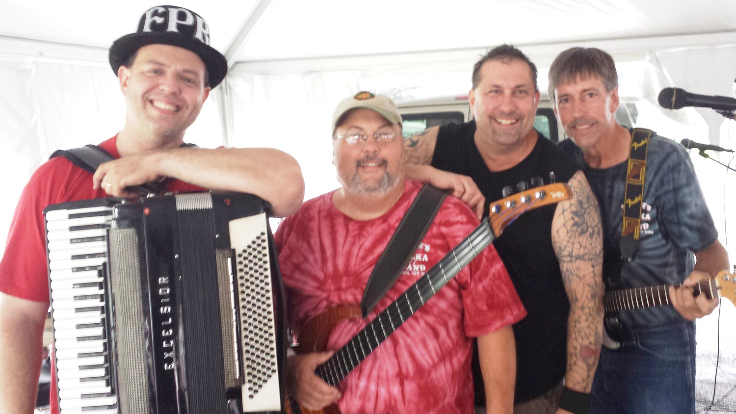 NOMINATED — Fritz's Polka Band from Verona has been nominated for several national awards by the Cleveland-Style Polka Hall of Fame in Euclid, Ohio.