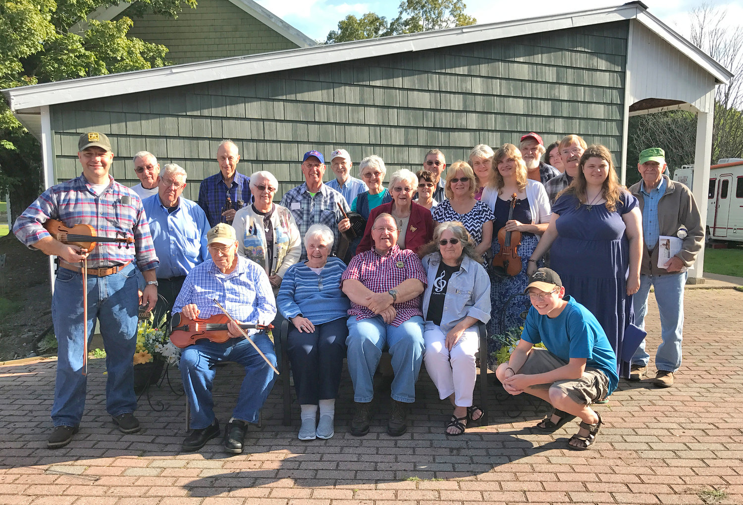 PERFORMING SUNDAY — Members of The New York State Old Tyme Fiddlers Association Central Chapter