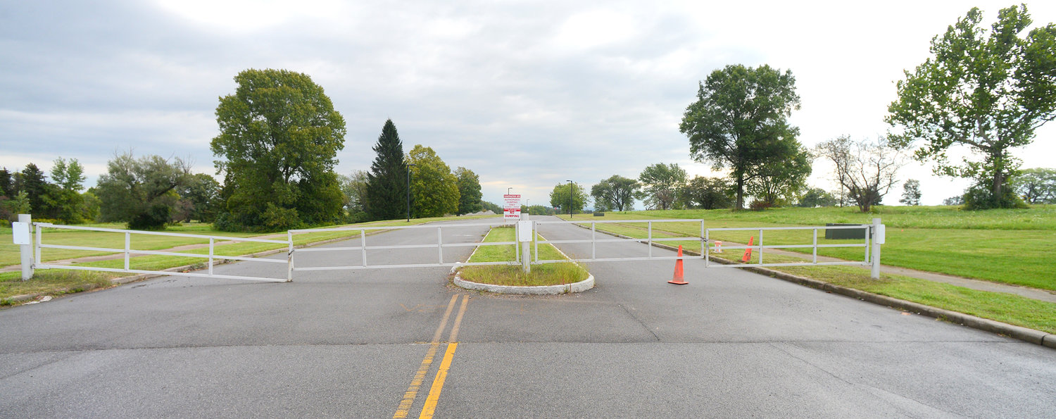 Gated Orgill Construciton Site off Route 825 identified as Atlas Dr.