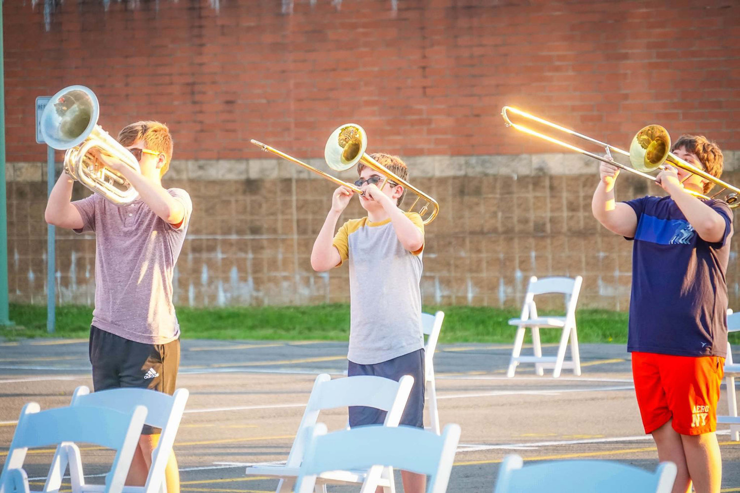 Marching Black Knights start season on right note with