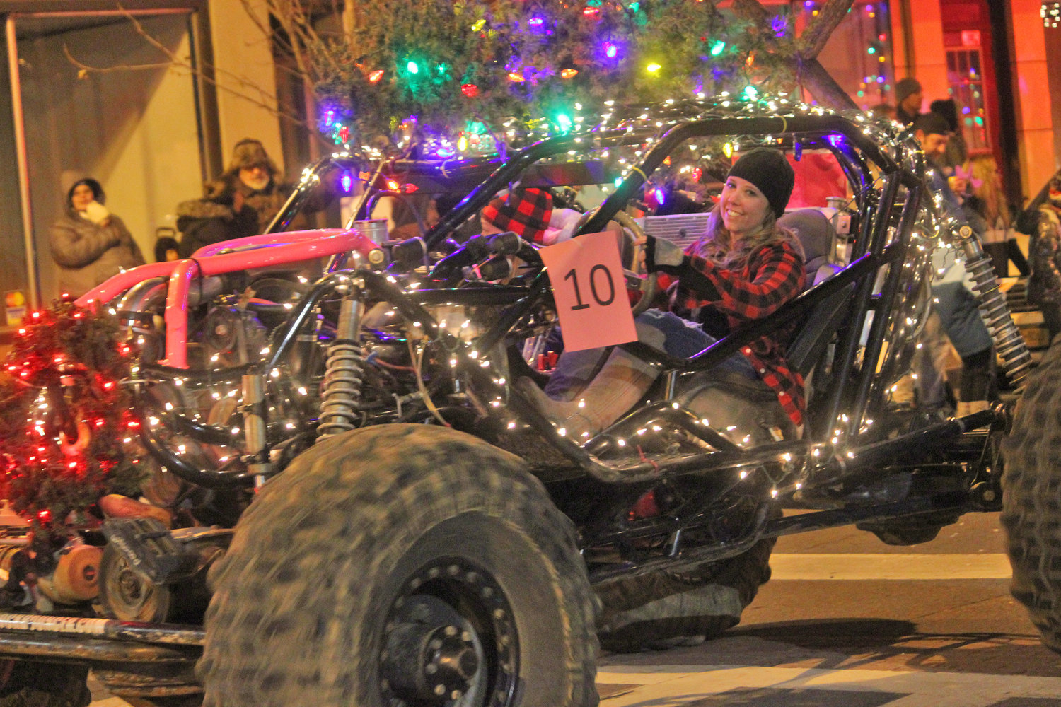 ALL REVVED UP FOR HOLIDAYS — Towns, villages and organizations from all over join in to welcome the season of giving for the second annual Canastota Parade of Lights on Saturday, Nov. 30.