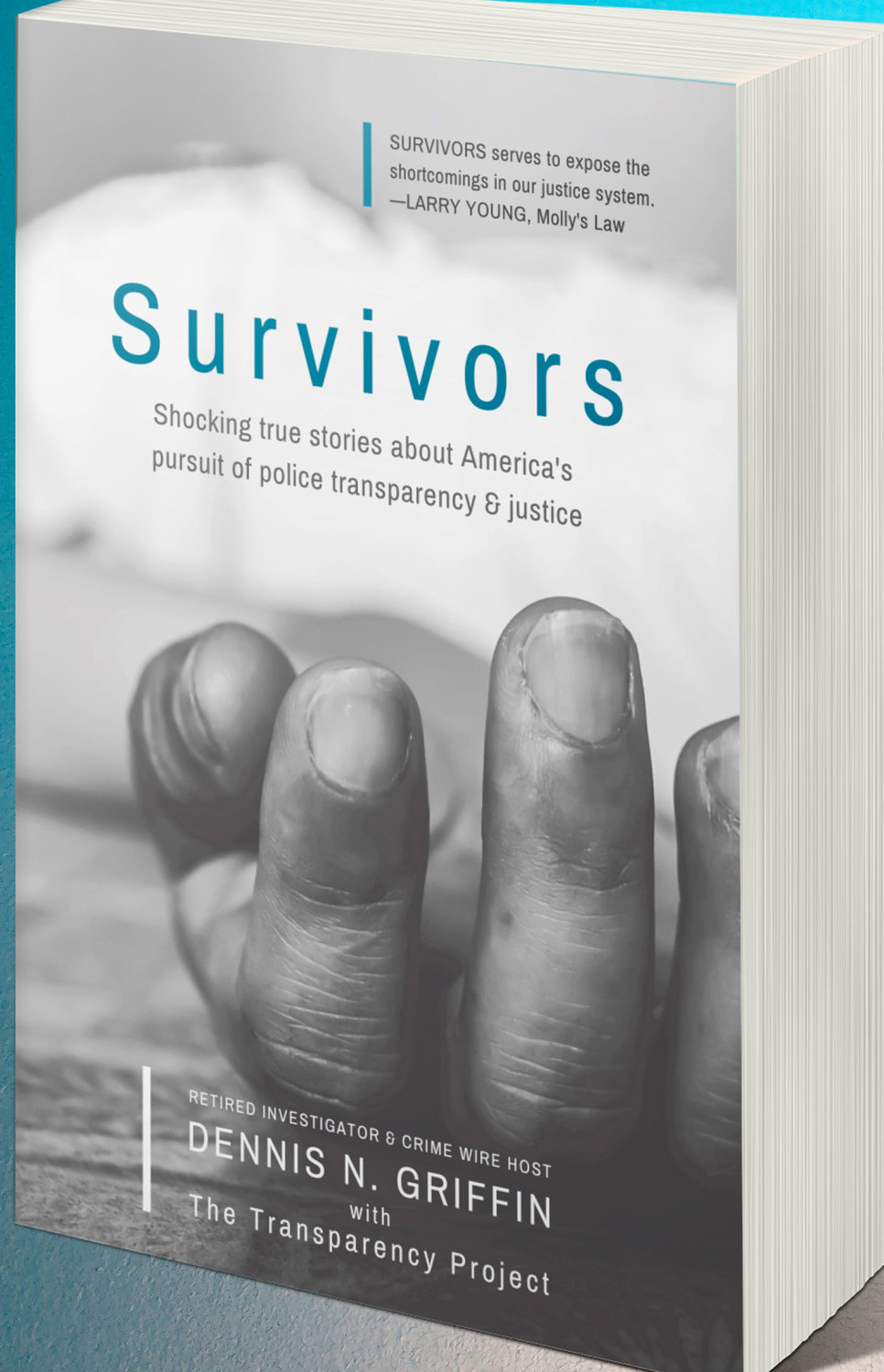 "HELPING VICTIMS — Former detective and writer of crime fiction, Dennis N. Griffin, a native of Rome, recently released his non-fiction book, ""Survivors: Shocking true stories about America's pursuit of police transparency & justice"" to aid families who were victims of violent crimes seek justice."