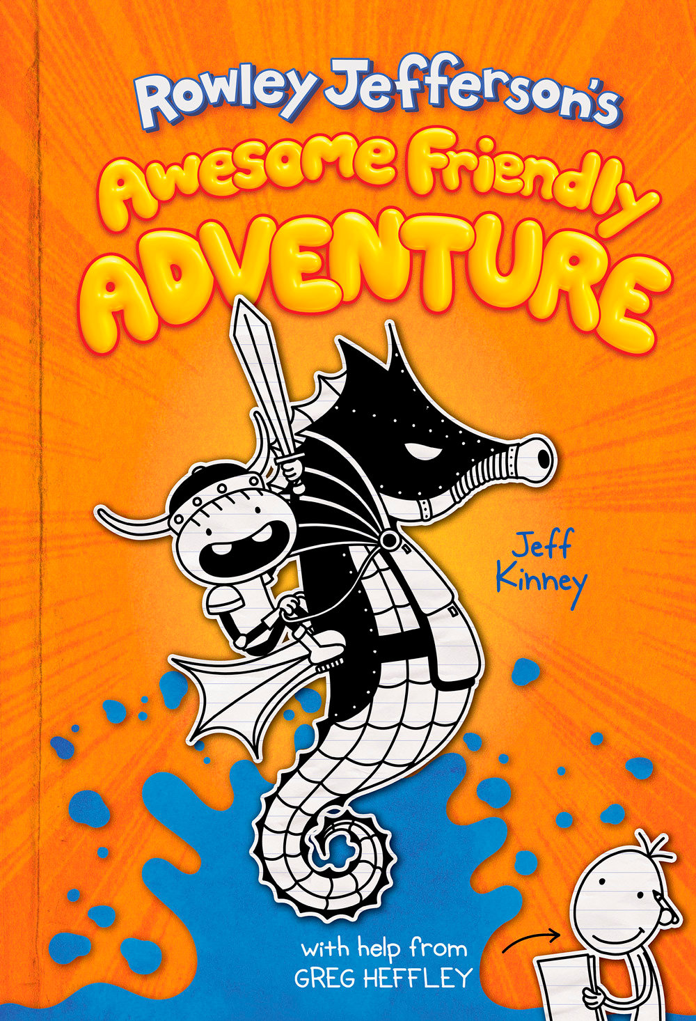 "COMING SOON —  ""Rowley Jefferson's Awesome Friendly Adventure,"" from Amulet Books, is headed for bookstores on April 7."