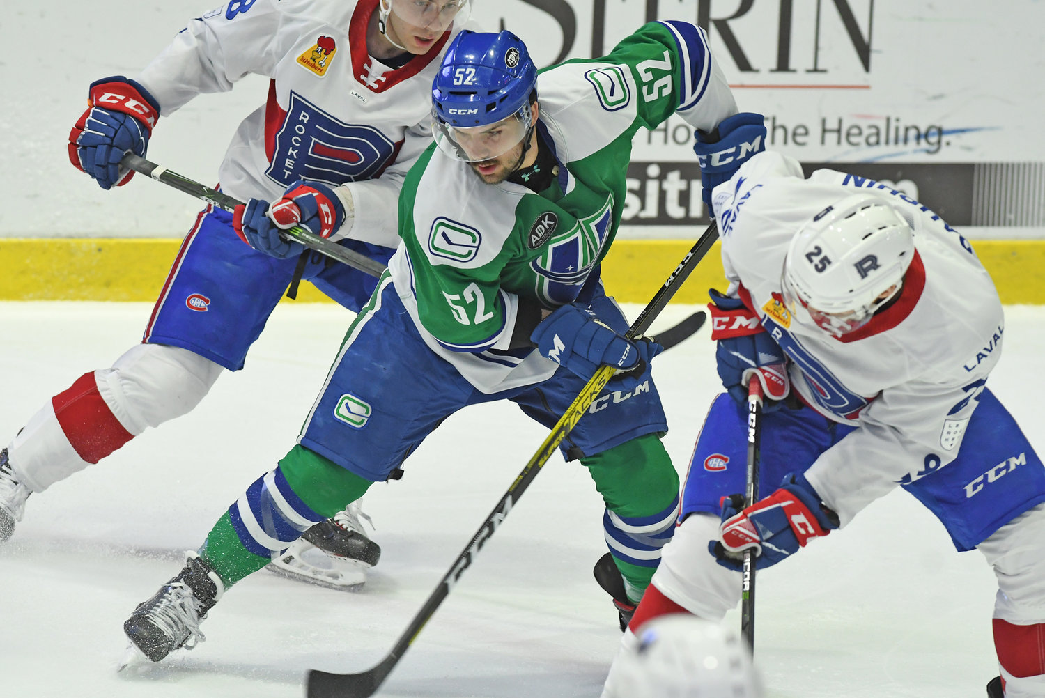 Comets #52 sandwiched by Laval #38 and #25.
