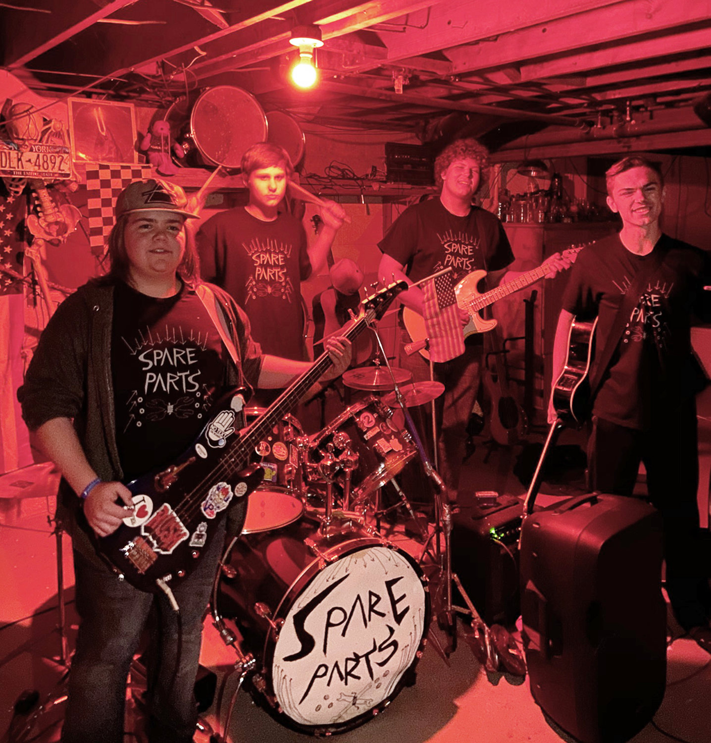 ROCK OUT — Spare Parts, a local band of students from Oneida High School, will perform at the Oneida Elks Lodge for their Cabin Fever Party. The event is open to the public.