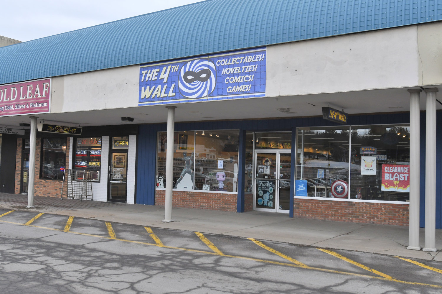 THE 4TH WALL — Located in the New Hartford Shopping Center, The 4th Wall is open every day of the week, typically from 10 or 11 a.m. to 9 p.m.