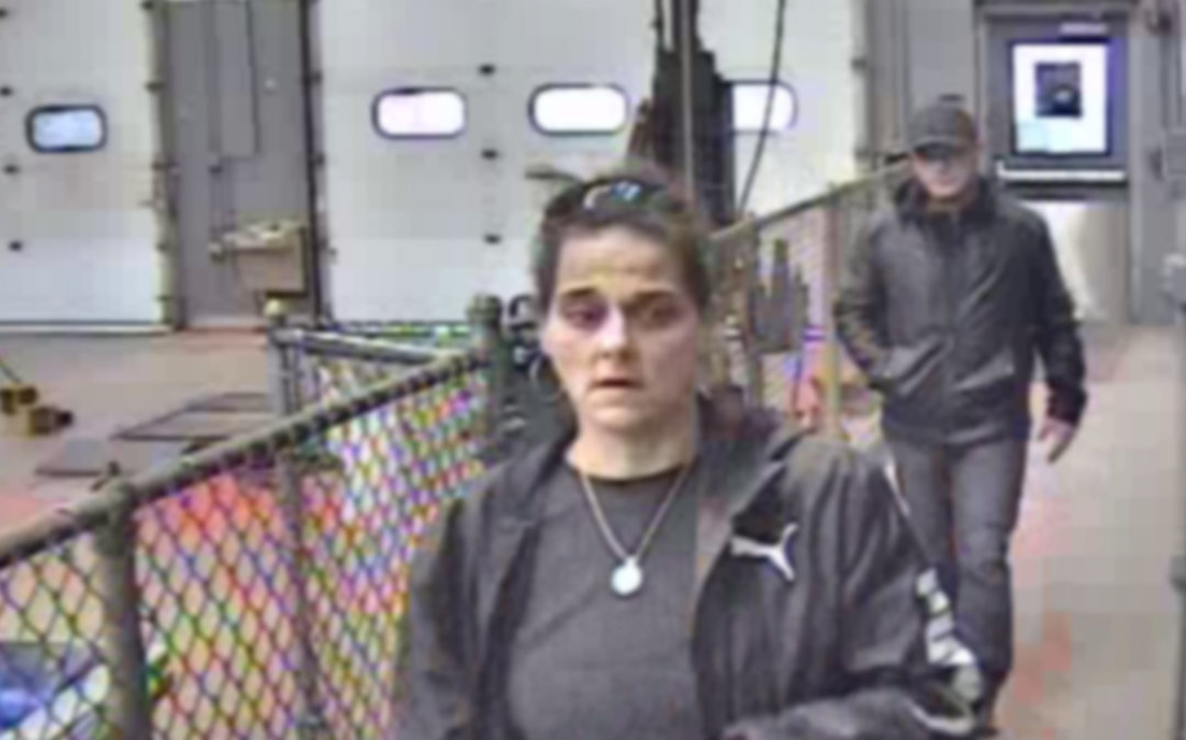 RECOGNIZE THEM? — Oneida Police are seeking two people in a larceny at Walmart. If you recognize her, you are asked to call police at 315-363-9111.