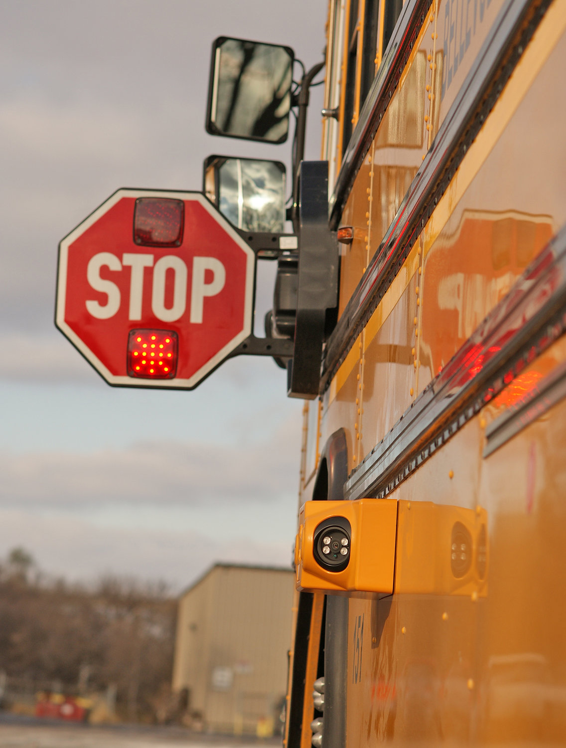 STOP, DON'T PASS —An automated camera is shown on a stopped school bus in an image provided by Verra Mobility, the Arizona company chosen by Oneida County for a program to crack down on drivers who pass stopped school buses. The system is designed to automatically document an infraction, which can result in a civil penalty on the vehicle's operator. School districts may take part at no expected cost, according to the county.