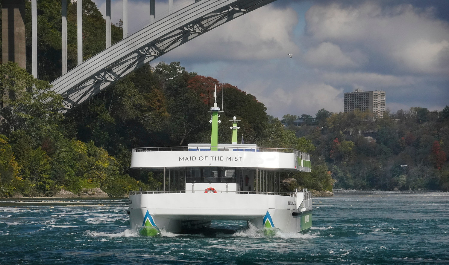 IT'S ELECTRIC — The Maid of the Mist, the iconic boat tour that has navigated the waters below Niagara Falls since 1846, has launched the first two new all-electric, zero-emission passenger vessels in the U.S., according to an announcement earlier this week by New York state officials.