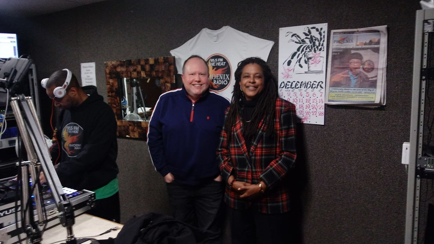 "Promoting my column and the Clinton Record in ""the Hot Seat with Cassandra Harris Lockwood"" on 95.5 FM The Heat. I appear regularly on the last Monday of each month at 5 pm."