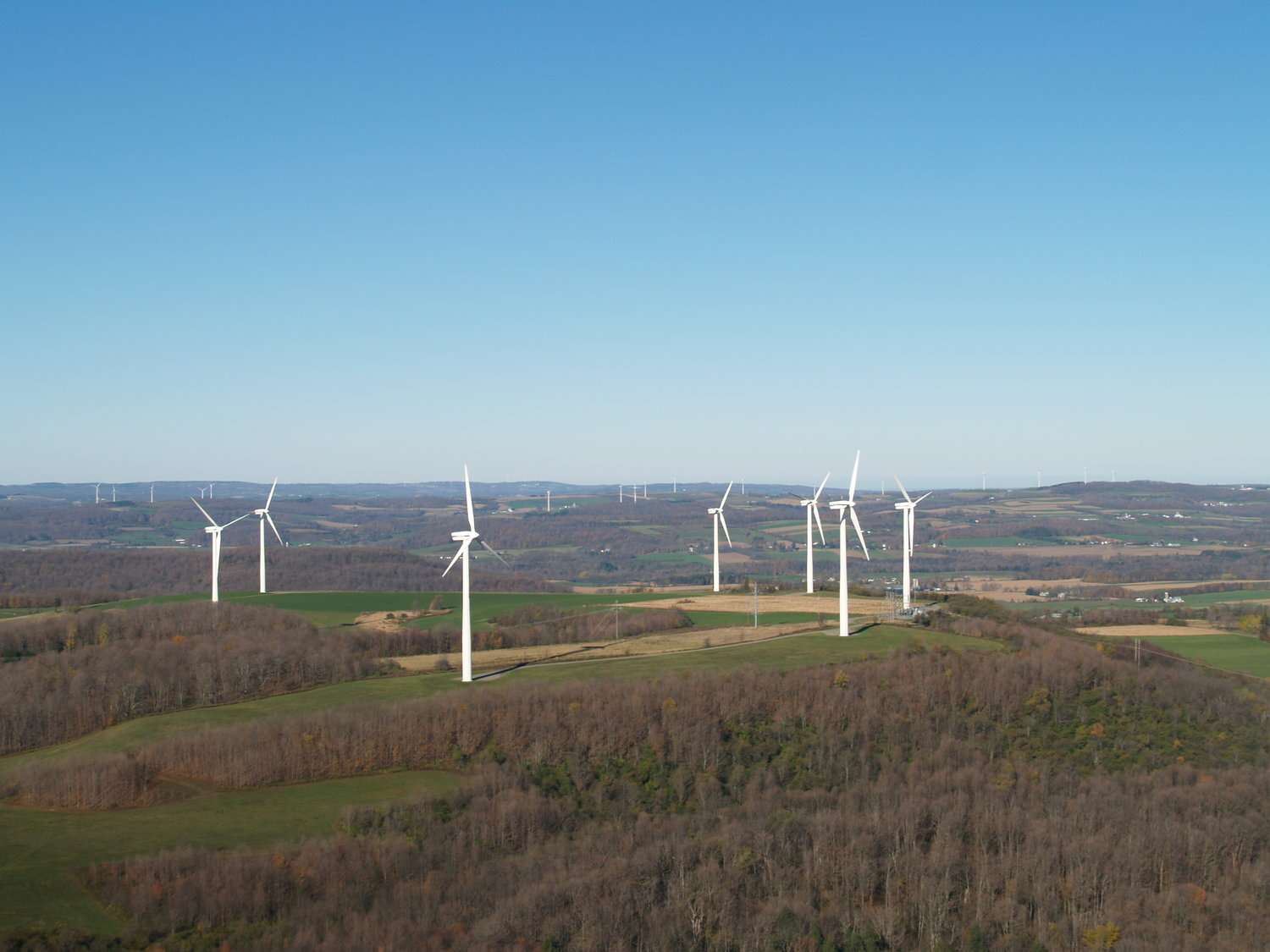 State's first wind farm in Madison County celebrates 20th ...