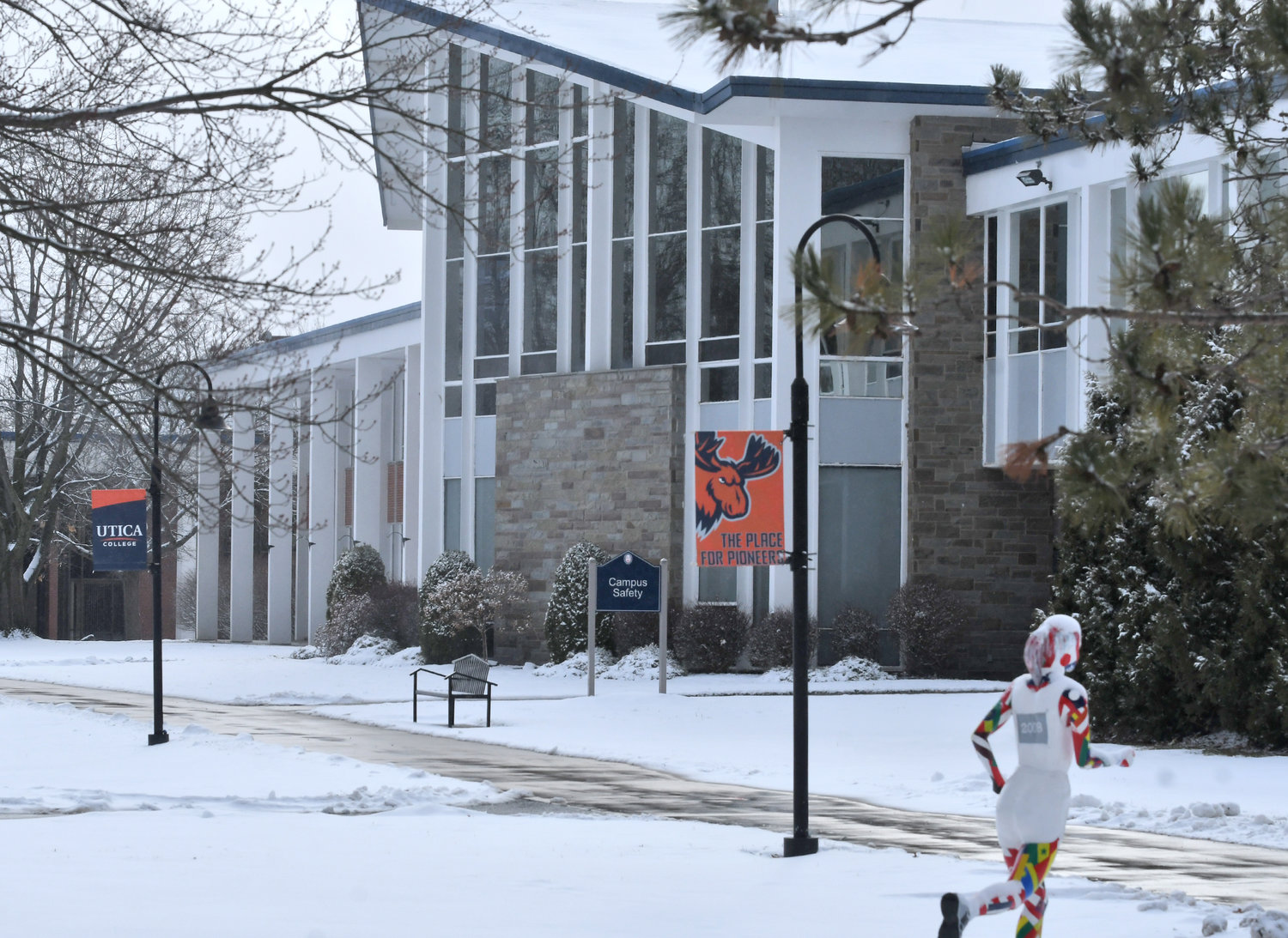 UC CAMPUS — Utica College moves into 2021 with plans including a number of new academic initiatives as well as further growth in its facilities.