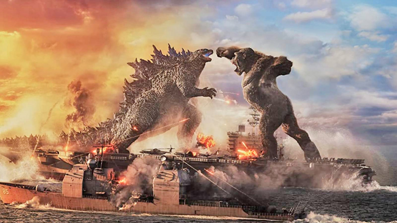 "BACK IN ACTION — Godzilla and King Kong square off in an epic battle for the ages in the aptly titled ""Godzilla vs. Kong,"" which will be screened at the Cinema Capitol, starting today. Can  humanity wipe out both creatures and take back the planet once and for all? Only time will tell — the PG-13 rated film runs 153 minutes."