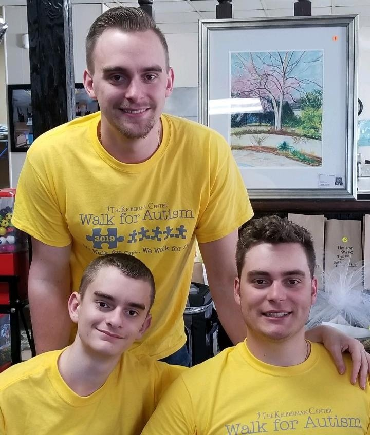 SUPPORTING BROTHER AND AUTISM AWARENESS — The Humpf brothers — Wyatt, Cooper and Dalton — have a long history of support for autism services and raising awareness. Wyatt was diagnosed with Autism in 2007; and the trio, along with parents, Bob and Mindi, have been active in a series of events and fundraisers to aid fellow families impacted by autism.  This year, a bottle and can fundraising drive will take place on Sunday, April 25, from 9 a.m. to 5 p.m. at the Holland Patent Fire House, 9531 Center St.