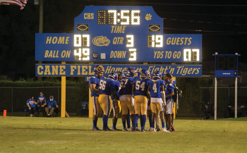 After being down 19-7, the Clewiston Tigers nearly came back to beat Calvary Christian.